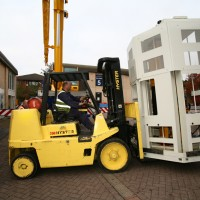 Removal of precision Milling machines to their new location