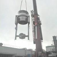 Pharmaceutical Manufacturing Equipment installation