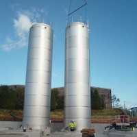 Bulk Storage Tanks installation